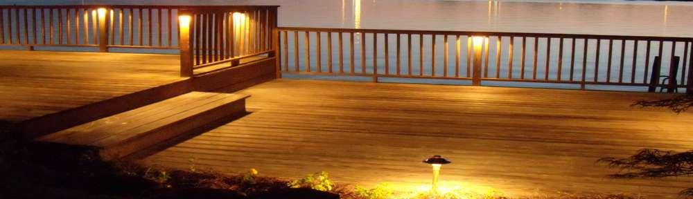 Deck lighting advanced building materials advanced for Decking spotlights