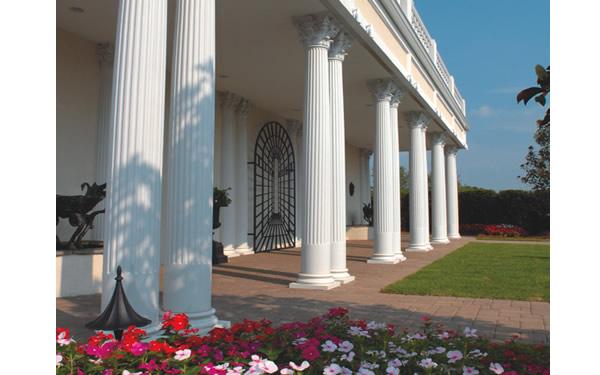 Round Fluted Fiberglass Columns Advanced Building
