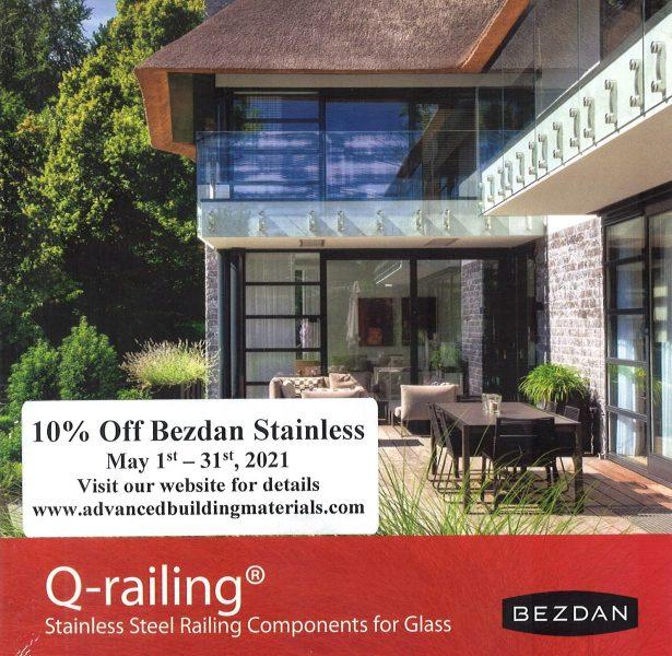 10% Off Bezdan Stainless