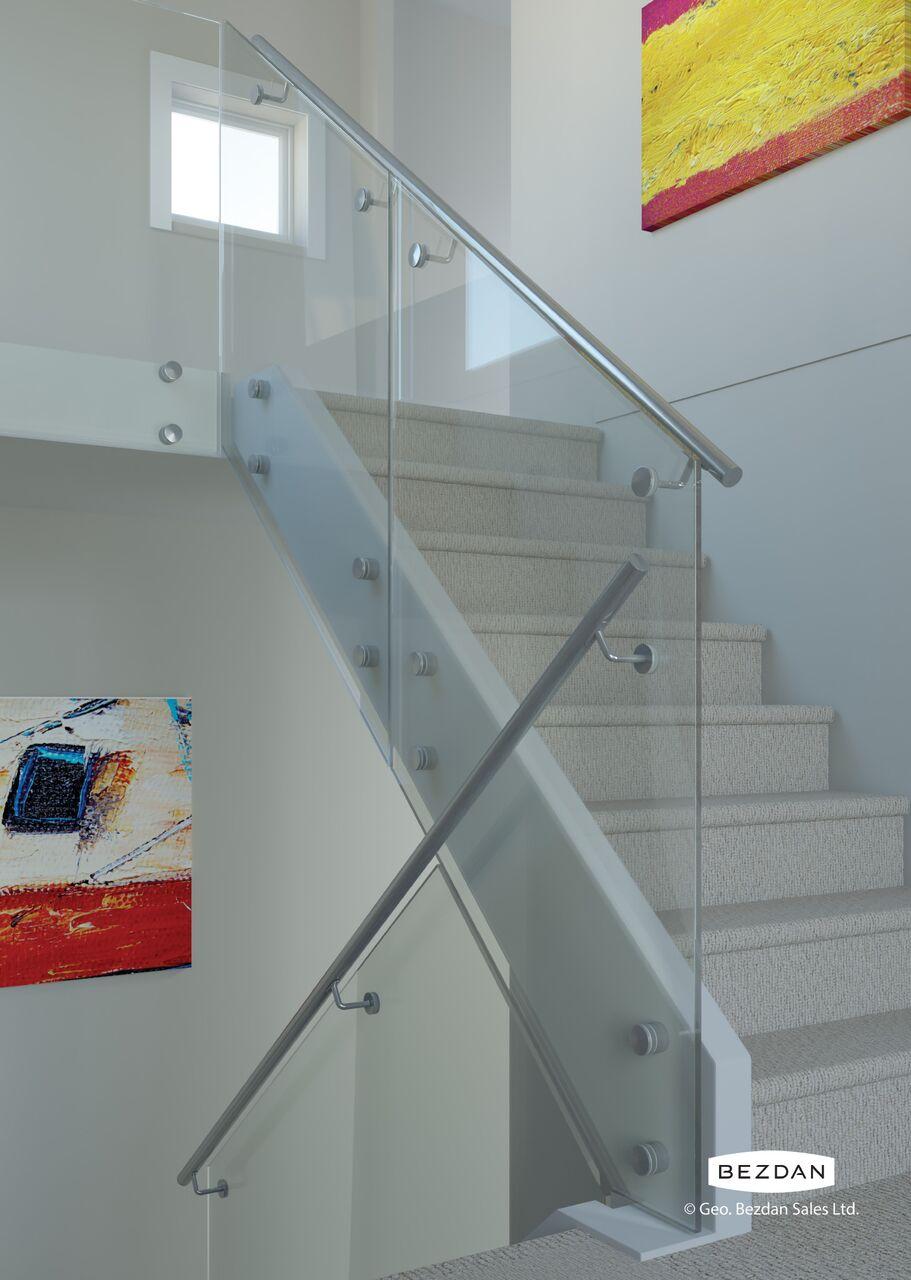 Interior/Exterior Glass Railing Systems – Advanced Building Materials